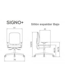 SIGNO+  Sillón Bajo